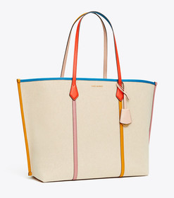 Tory Burch PERRY CANVAS OVERSIZED TOTE
