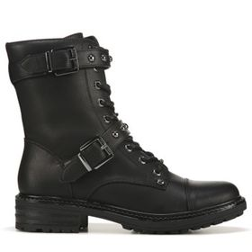 G BY GUESS Women's ggGranted Combat Boot