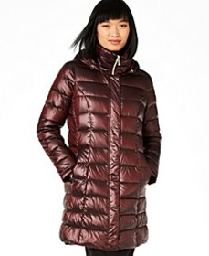 Calvin Klein Hooded Packable Puffer Coat, Created