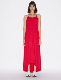 Armani LONG DRESS IN VISCOSE