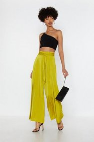 Nasty Gal Womens Lime Everybody Wrap Your Hands Wi