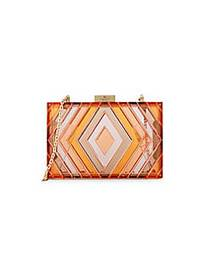 Valentino Garavani Rectangular Minaudiere ORANGE M