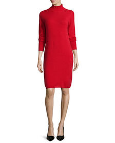Neiman Marcus Cashmere Collection Turtleneck Cashm