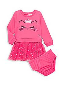 Juicy Couture Baby Girl's 2-Piece Cotton-Blend Dre
