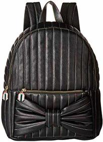 Betsey Johnson Rainbow Chain Bow Backpack