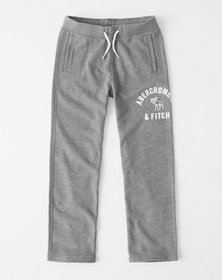 classic logo sweatpants, heather grey