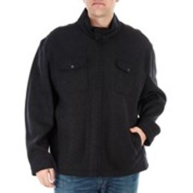 LONDON FOG Big & Tall Stretch Wool-Blend Jacket