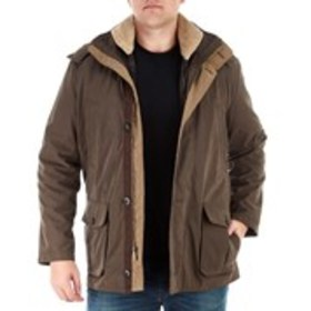 LONDON FOG Big & Tall Parka With Removable Lining