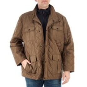 LONDON FOG Big & Tall Quilted Puffer Coat With Bib