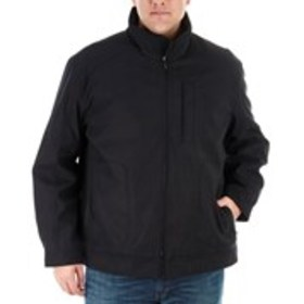 LONDON FOG Big & Tall Puffer Coat With Quilted Lin