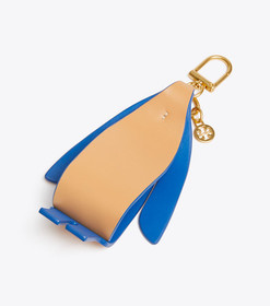 Tory Burch ORIGAMI PENGUIN KEY RING
