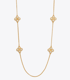 Tory Burch ROPE CLOVER ROSARY
