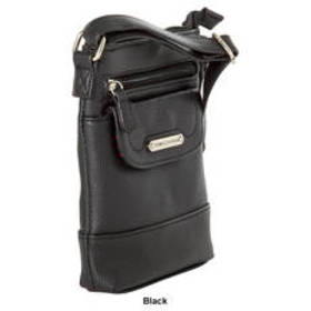 Stone Mountain Flap Mini Crossbody - Black