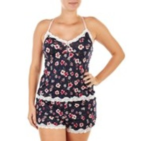 MARILYN MONROE Floral Cami & Shorts Pajama Set wit