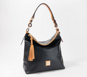 """As Is"" Dooney & Bourke Smooth Leather Small Sloan"