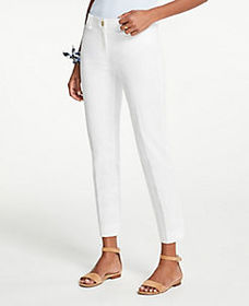 The Petite Curvy Cotton Crop Pant
