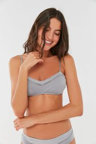 Out From Under Hey Sweetheart Mesh Trim Bralette