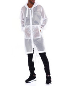 Champion mesh hooded trench