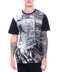 True Religion ss city view crew neck tee