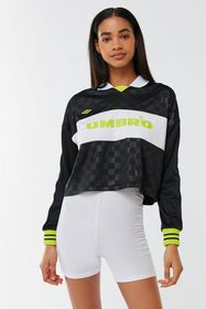 Umbro UO Exclusive Checkered Cropped Rugby Jersey