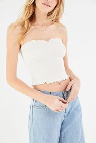 UO Cami Smocked Tube Top