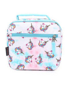 JanSport unicorn clouds lunch break box