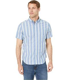 Nautica Casual Stripe Short Sleeve Shirt