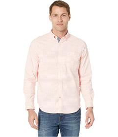 Nautica Oxford Gingham Long Sleeve Shirt