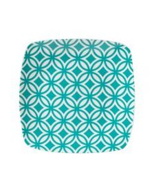 Pfaltzgraff Color Square Salad Plate Blue
