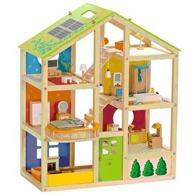 Hape All Season House Furnished Kids Toddler Toy W