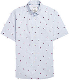 Jos Bank 1905 Collection Tailored Fit Short Sleeve
