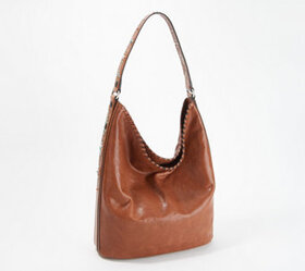 Frye Leather Painted Desert Studded Hobo - A351745