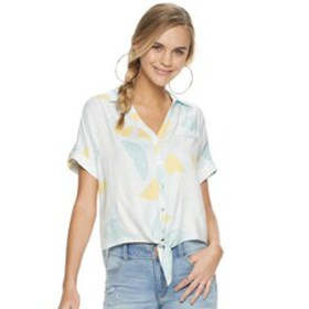 Juniors' Candie's® Button-Up Scout Shirt