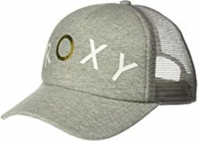 Roxy Truckin Heather Trucker Hat