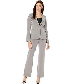 Tahari by ASL Bell Sleeve One-Button Jacket Pants