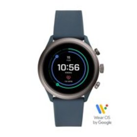 Fossil Sport Men's Smartwatch - Smokey Blue Silico