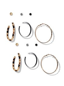 6-Piece Post & Hoop Earring Set - New York & Compa