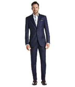 Jos Bank Reserve Collection Tailored Fit Suit - Bi