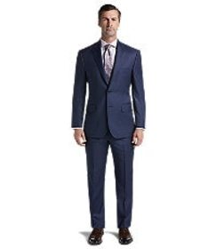 Jos Bank Reserve Collection Tailored Fit Mini Chec