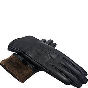 MoDA Ms. D.C. Touchscreen Texting Leather Gloves