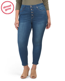SEVEN7 Plus Ultra High Rise Skinny Jeans