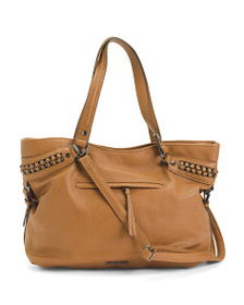 JESSICA SIMPSON Maxie Tote With Chain Detail