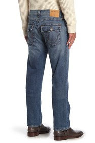 True Religion Geno Big Flap Straight Jeans
