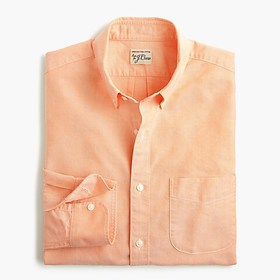 J. Crew American Pima cotton oxford shirt with mec