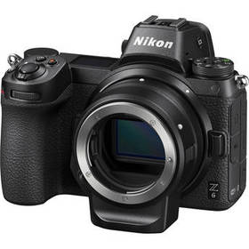 Nikon Z 6 Mirrorless Digital Camera with FTZ Mount