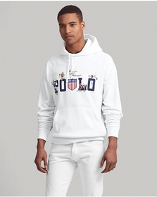 Ralph Lauren Cotton-Blend Graphic Hoodie