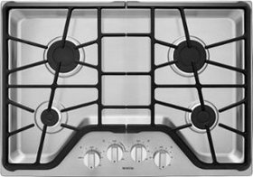 """Maytag - 30"""" Built-In Gas Cooktop - Stainless stee"""