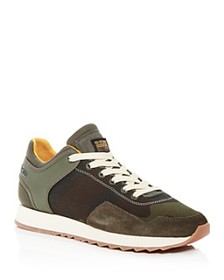 G-STAR RAW - Men's Calow Mixed-Media Low-Top Sneak