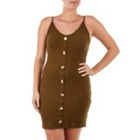 RILEY & JAMES Juniors Ribbed Button Front Tank Dre