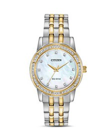 Citizen - Silhouette Two-Tone Mother-of-Pearl Dial